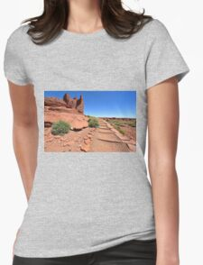 Wupatki National Monument park Womens Fitted T-Shirt
