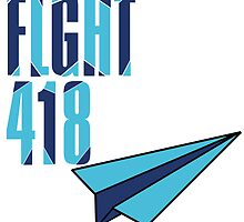 Flight 418: Blue by Dianthus