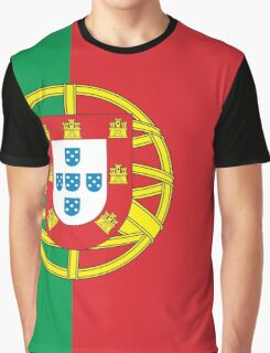 The Portugal Flag Graphic T-Shirt