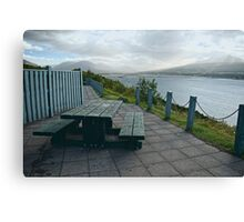 Table With A View Or Lets Have Lunch... Canvas Print