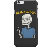 Global Warning Skeleton iPhone Case/Skin