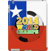 2014 World Champs Ball - Chile iPad Case/Skin