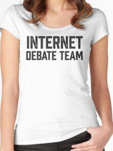 Internet Debate Team Women's Fitted Scoop T-Shirt