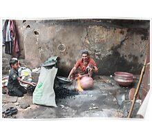 Copper Pot Craftsman  Poster