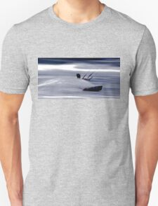 Kitesurfing - Riding the Waves in a Blur of Speed Unisex T-Shirt