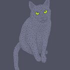 PolyCat (Gray) by Jason Castillo