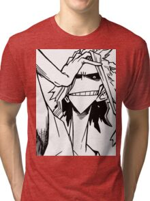 All Might-Boku no Hero Academia Tri-blend T-Shirt