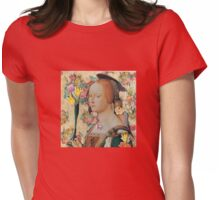 Angel Of Flora Womens Fitted T-Shirt