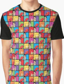 scotch & gummy bears tiles Graphic T-Shirt