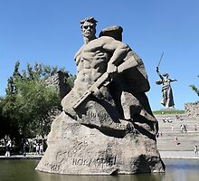 Monument to the Heroes of the Battle of Stalingrad by mrivserg