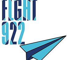 Flight 922: Blue by Dianthus