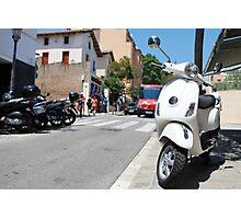 Vespa  scooter Photographic Print