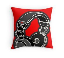 """HEAD_BLOWN!"" Throw Pillow"