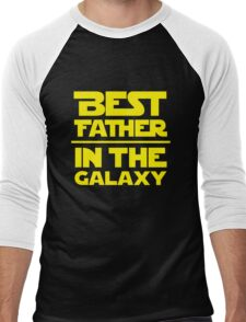 Best Father in the Galaxy Men's Baseball ¾ T-Shirt
