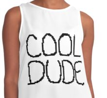 COOL DUDE! Contrast Tank
