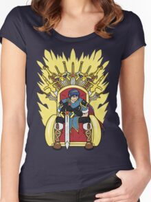 The Hero King Of Emblems Women's Fitted Scoop T-Shirt