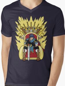 The Hero King Of Emblems Mens V-Neck T-Shirt