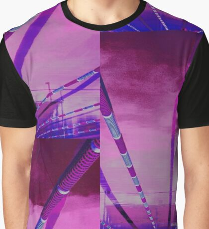 Abstract Series - Looking Up from Below Graphic T-Shirt