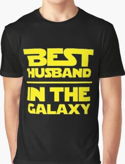 Best Husband in the Galaxy Graphic T-Shirt