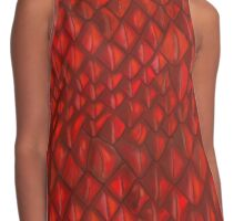 Game of Thrones - Red Dragon Scales Contrast Tank