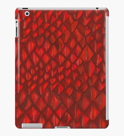 Game of Thrones - Red Dragon Scales iPad Case/Skin