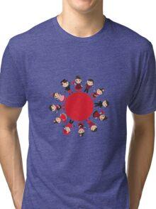 Flamenco world Tri-blend T-Shirt