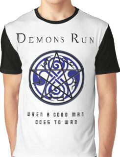 SuperWHO - Demons Run Graphic T-Shirt