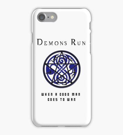 SuperWHO - Demons Run iPhone Case/Skin