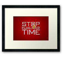 Stop, Hjalmar Time Framed Print
