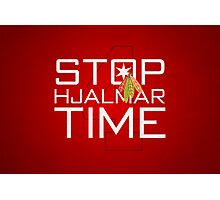 Stop, Hjalmar Time Photographic Print
