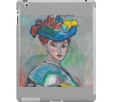 The Woman With The Hat(After Matisse) iPad Case/Skin