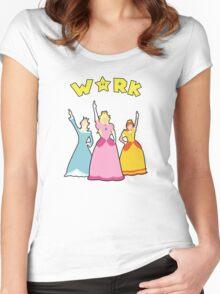 Super Hamilton Princesses Women's Fitted Scoop T-Shirt