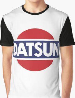 Datsun Classic Car Logo Graphic T-Shirt