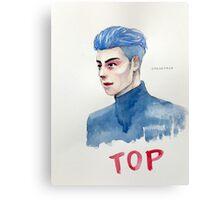 Blue TOP Canvas Print