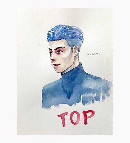 Blue TOP Photographic Print