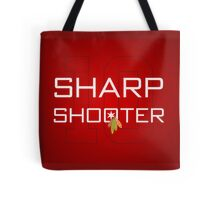 Sharp Shooter Tote Bag