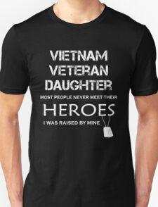 Vietnam veteran daughter tshirt Unisex T-Shirt