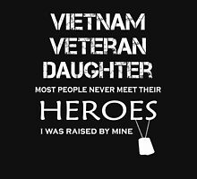 Vietnam veteran daughter tshirt Womens Fitted T-Shirt