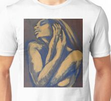 Emotional - Female Nude Portrait Unisex T-Shirt