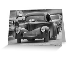 Classic Transport in Mono Greeting Card