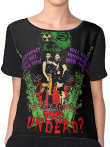 Tick and Tock vs. the Undead Chiffon Top
