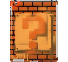 Question Block Graffiti iPad Case/Skin