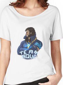 Team Aqua Women's Relaxed Fit T-Shirt