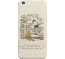 Winnie the Pooh & Friends iPhone Case/Skin