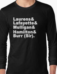 Hamilton Long Sleeve T-Shirt