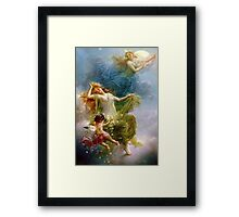 Angels in Heaven Framed Print