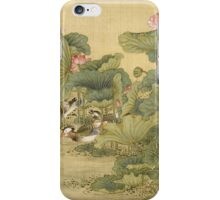 Shen Nanpin - Shen Nanpin. Forest view: forest , trees,  fauna, nature, birds, animals, flora, flowers, plants, field, weekend iPhone Case/Skin