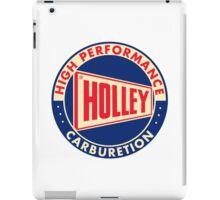 Holley iPad Case/Skin