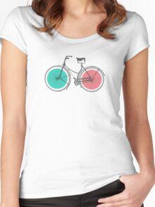 3D Bike Women's Fitted Scoop T-Shirt