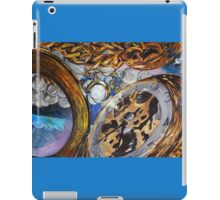 Vanitastic- watches, diamonds and pearls reflected in mirror iPad Case/Skin